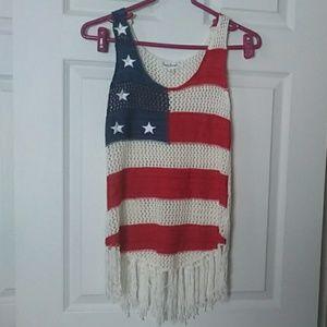 Pretty patriotic top